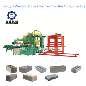 Widely used concrete block making machine for sale in usa large mobile brick machine