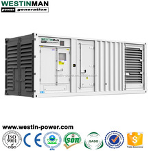 Large Power Plant Dynamo MITSUBISHI S12R Series 1250KVA 1000KW Container Silent Generator Diesel with Pulley price