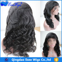 100% Brazilian Human Hair Long Lace Front and Full Lace Wigs Body Wave 8-24 inch in stock