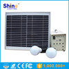 20W led solar home lighting system Home Application solar lighting system with CE