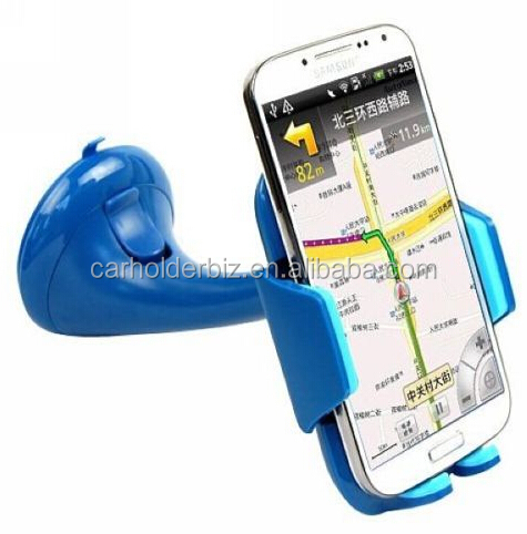 Suction Cup Car Stretch Holder for Samsung / HTC / Nokia / Other Mobile Phone