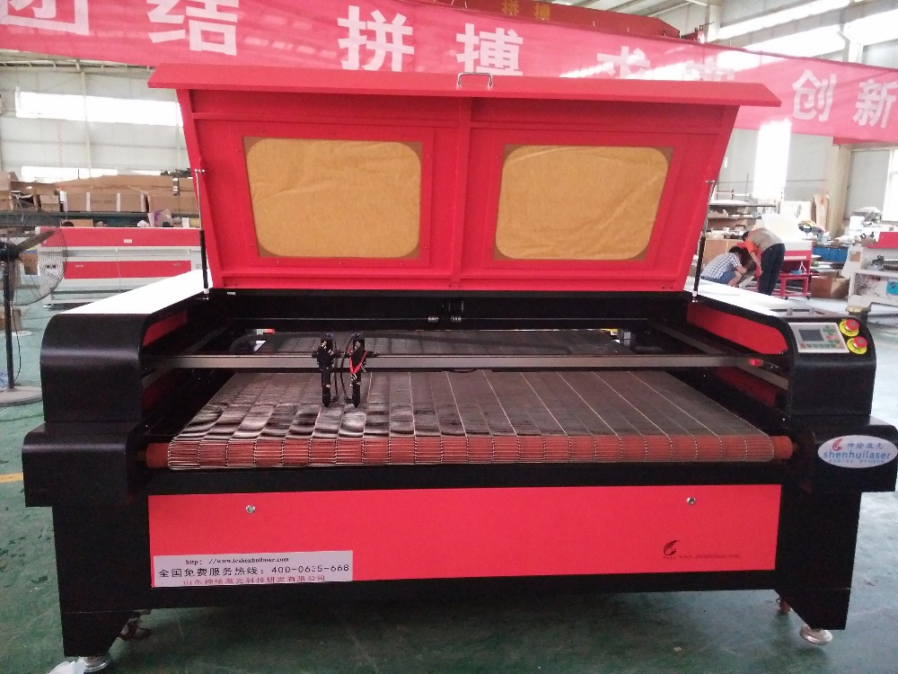 facbric automatic feeding laser cutting machine