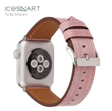 genuine Leather watch band strap for apple watch series 3 straps, wrist band for apple watch 3