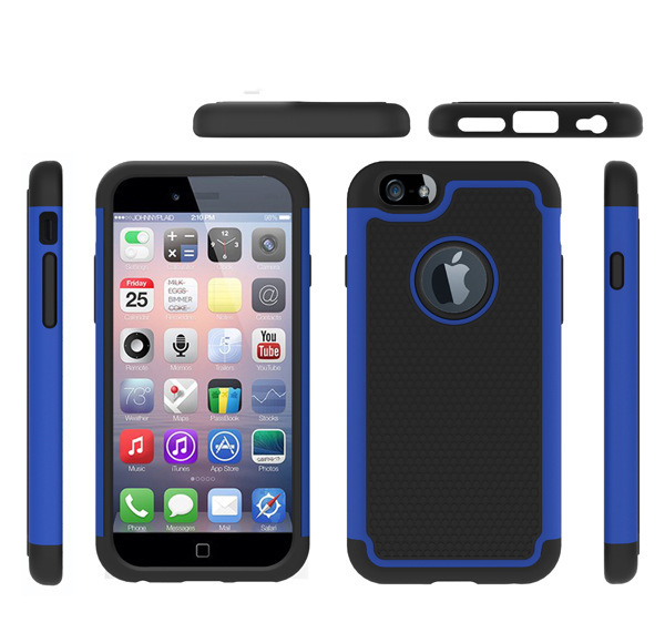 Heavy duty Combo Triple Cover Case for iphone 6 4.7inch