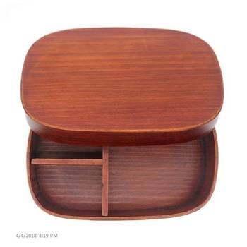 Bento Lunch Box Wooden Lunch Box