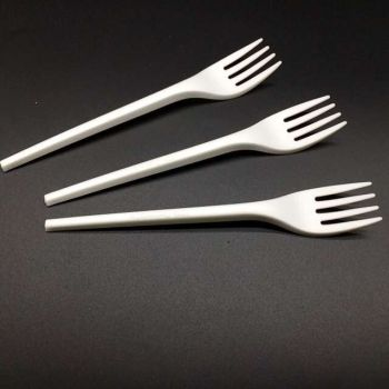 BPI Certificated CPLA forks biodegradabl;e forks ,100% biodegradable and compostable