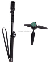 Go Pro Accessories Monopod Ski Pole Handle with tripod mount Bonus Screw