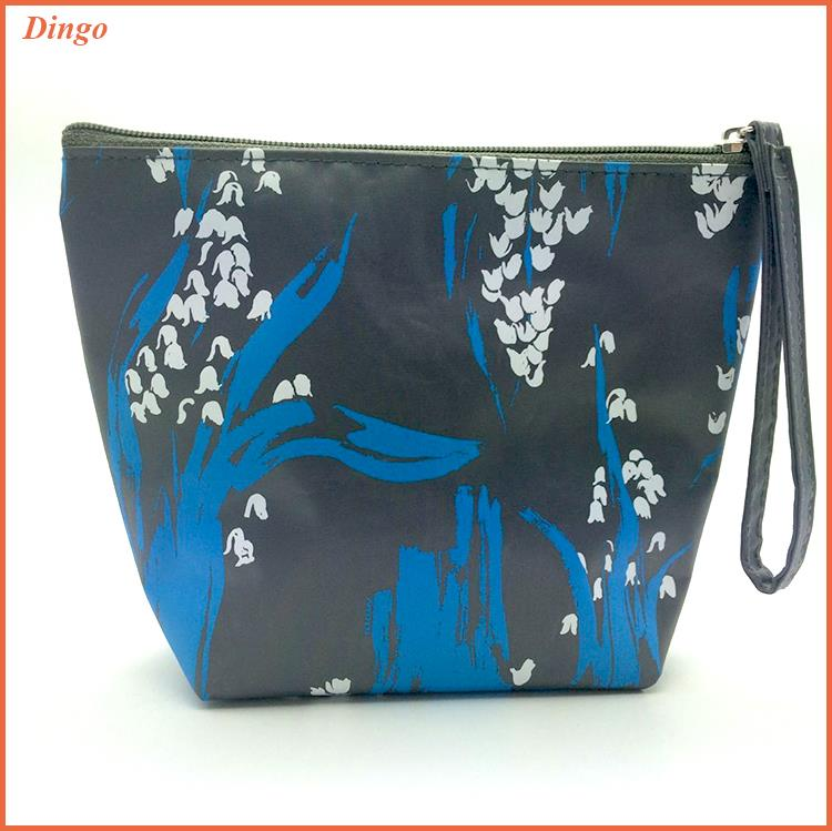 Wholesale New Nylon Women Black Travel Makeup Bag Brush Cosmetic Bag