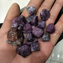 Wholesale natural rough raw corundum ruby gemstone with cheap price