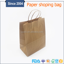 Promotion Use and Accept Custom Order personalised paper shopping bag wholesale