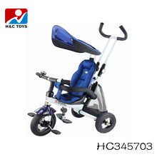 2017 Hot Selling Best Safety Kids Push Trike Cheap Children Tricycle for Baby HC345703