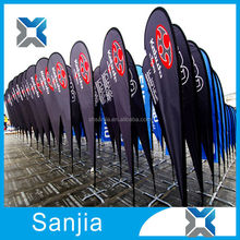 Outdoor Advertising Beach Flags Cheap Outdoor Feather