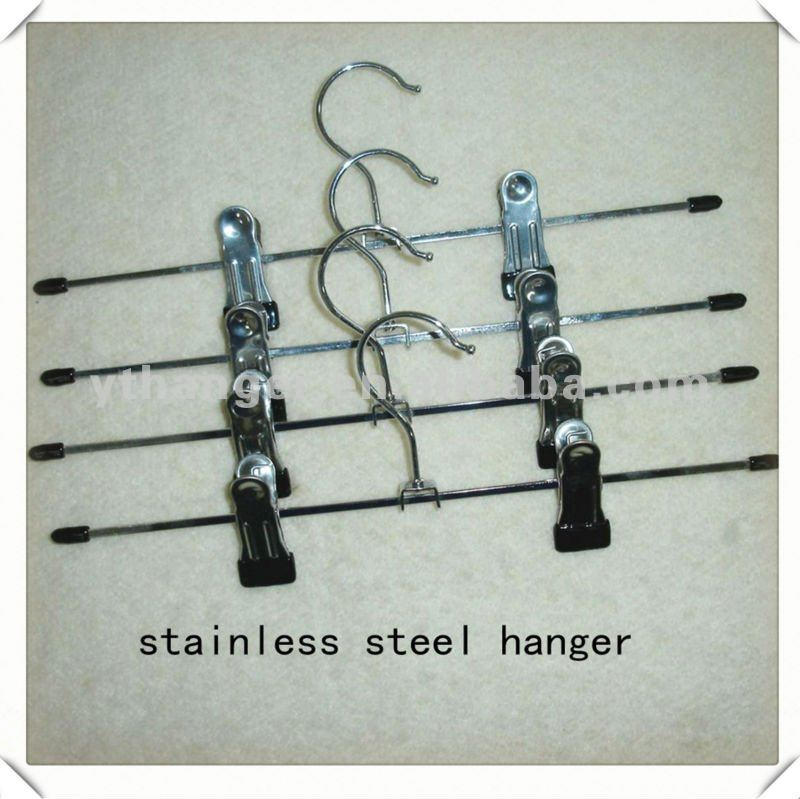 AT99 stainless steel retractable clothes hanger