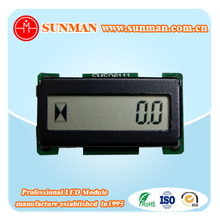 Programmable lcd module digital counter hour meter display