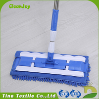 Without Leaving Marks Long Handle Mop High Quality Roto Chenille Mop
