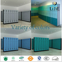 hpl advanced compact laminate cabinet fireproof gym swimming pool changing room office modern shoe cabinet colourful hpl locker