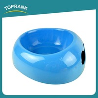 TOPRANK Familiar With ODM Factory High Quality Modern Dog Bowl Blue