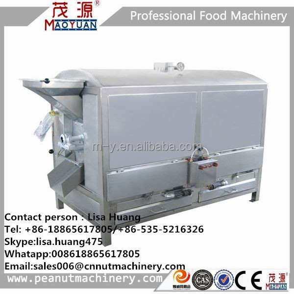 roasting machine for cashew nut/peanut/almond with CE/ISO9001