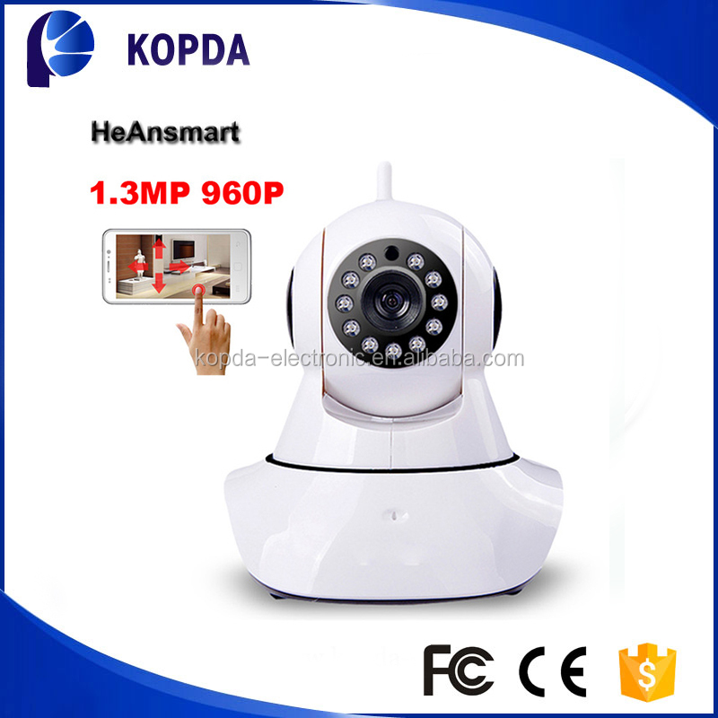 H.264 bulb high quality indoor 1.3mp fish-eye 180 degree ip dome camera