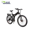 Folding lithium bike 26 inch 7 speed aluminum alloy one wheel bikes electric bicycle/aluminum frame