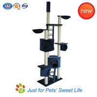 Durable Strong Cat Tree for Large Breeds Kitty Play