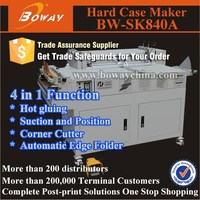 BW-SK840A Multi function Semi-automatic hard cover case maker
