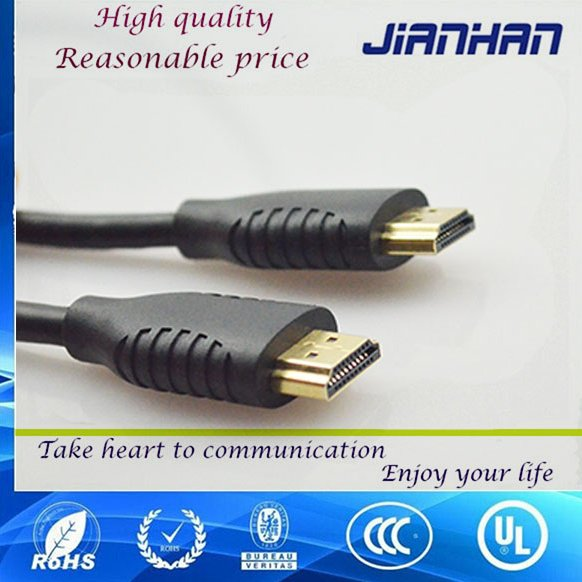 2016 alibaba wholesale 1.4v 2.0 version hdmi male to male cable with braid