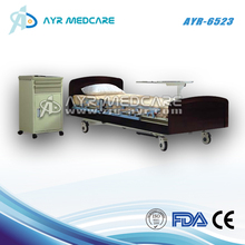 Wood Electric Home Care Five Functions Bed