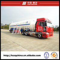 Flammable liquid natural gas LNG tanker semi trailers with high technology