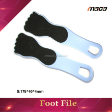 Hot sell pedicure Foot File with plastic long handle foot file cullus reomve disposable