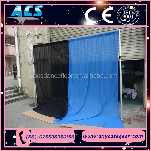 ACS Promotional wedding backdrops,Durable pipe and drape, cheap wedding backdrops for sale