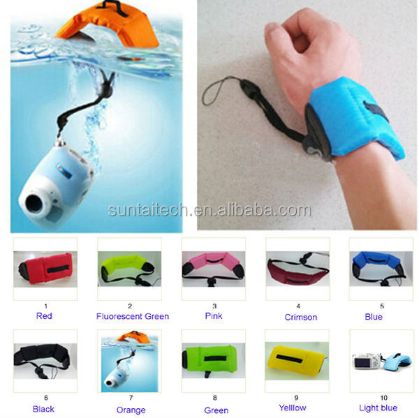 Factory selling Go Pro Accessories Diving surf floating wrist arm Dive Hand Strap for Gopro Hero 4/3+/3/2/1