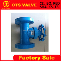 Bv-SY-478 High quality 2 inch non- rising stem gate valve with yoke RF flange DIN Standard