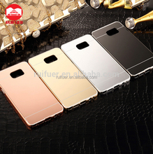 2016 Wholesale Luxury Ultraslim 2 in 1 Detachable Electroplating Aluminum Mirror Metal Bumper Case for Samsung Galaxy Note 5