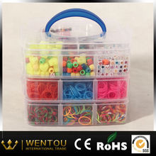 rubber band kit fun original diy three- tier loom bands kit
