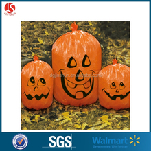 Outdoor Plastic Pumpkin bag for filling grass and leaf bags