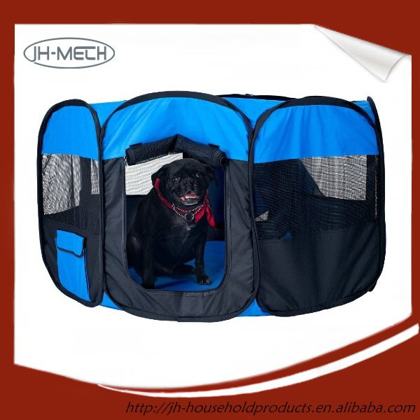 Portable Pet Playpen Puppy Dog Folding Crate Pen