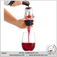 High - end Novelty Silicone Wine Aerator Custom