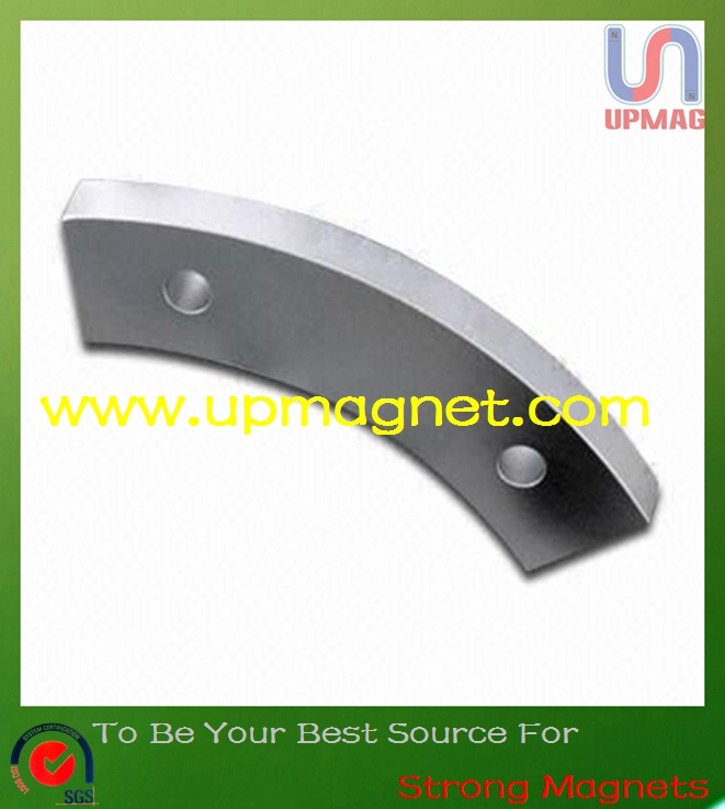 High performance Arc strong neodymium magnets for wind power generator