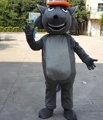 Grey wolf mascot costumes/TV mascot costume for adult
