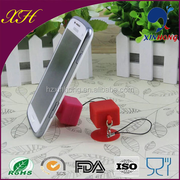 Brand New Design SJZ-03 Promotional Silicon Case for Cellphone Stand