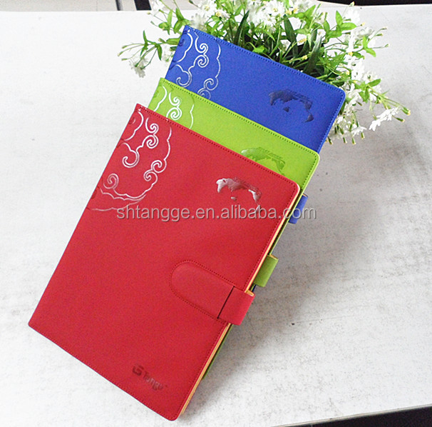 Fashionable Top quality Custom PU Leather Notebook Sleeve Cases