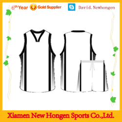Custom made basketball jersey, China basketball uniform design