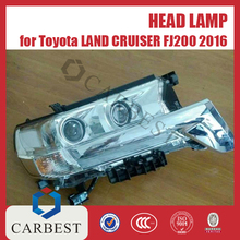 High Quality Head Lamp for Toyota Land Cruiser FJ200 2016