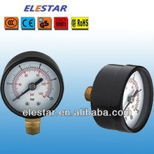 Standard General Y series 40mm 50mm 63mm Industrial pressure meter/ Pressure Gauge/ manometer