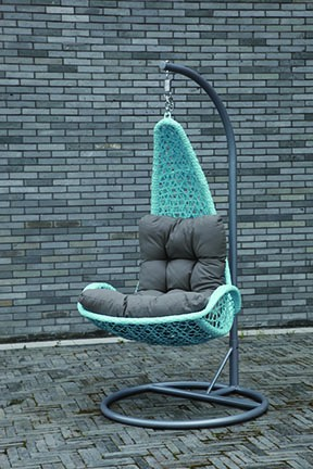 Salon de jardin balan oire ext rieure chaise couverture for Chaise oeuf suspendu