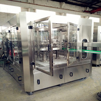 new juice filling sealing machine for glass bottles