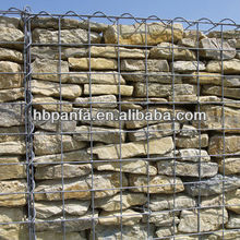 Welded Gabion Wall /Wire dia: 2.0-6.4mm /Mesh opening: 5x5 8x8 10x10 15x15