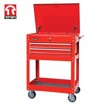 Torin TC325C Metal Tool Cart with Drawers and Cabinet For bulk purchase wholesale quality assurance