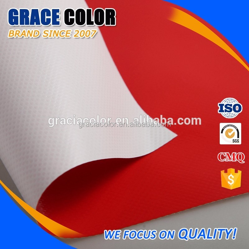 High Quality Control Multi-Color Waterproof pvc coated tarpaulin fabric